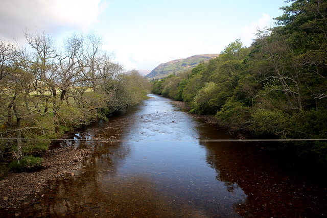 The River Broom from the Inverbroom Bridge