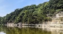 Bluffs along the Fox River