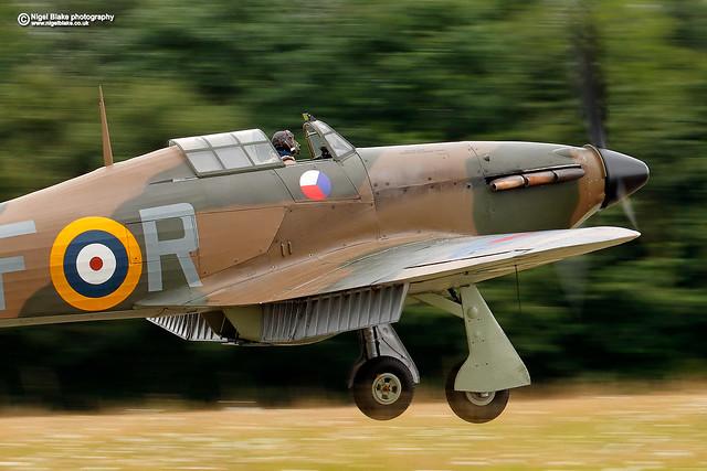 Hawker Hurricane Mk XIIa RF-R, R4175 G-Huri
