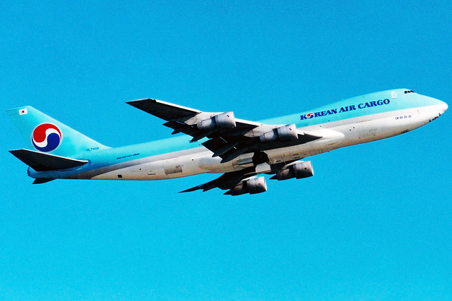 Korean Air Cargo | Boeing 747-200F | HL7408 | Hong Kong International