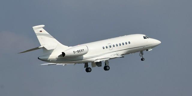 Dassault Falcon 2000EX - Bertelsmann, D-BERT - Aeroporto di Roma-Ciampino