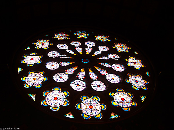 Temple Stain Glass