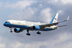 Boeing VC-32A 99-0003 United States Air Force @ BCN/LEBL