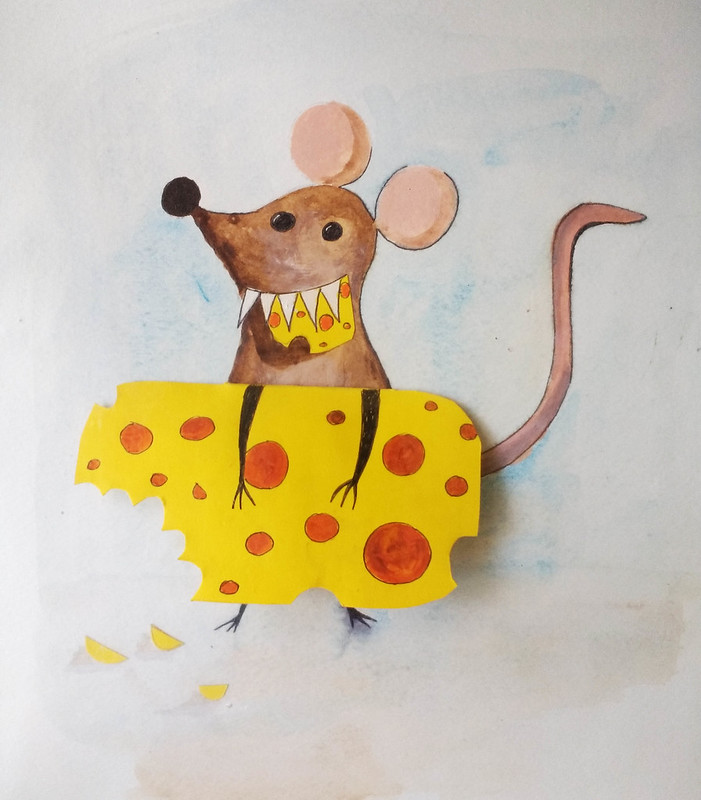 Mouse_with_cheese_by_Gillian_Hebblewhite_5