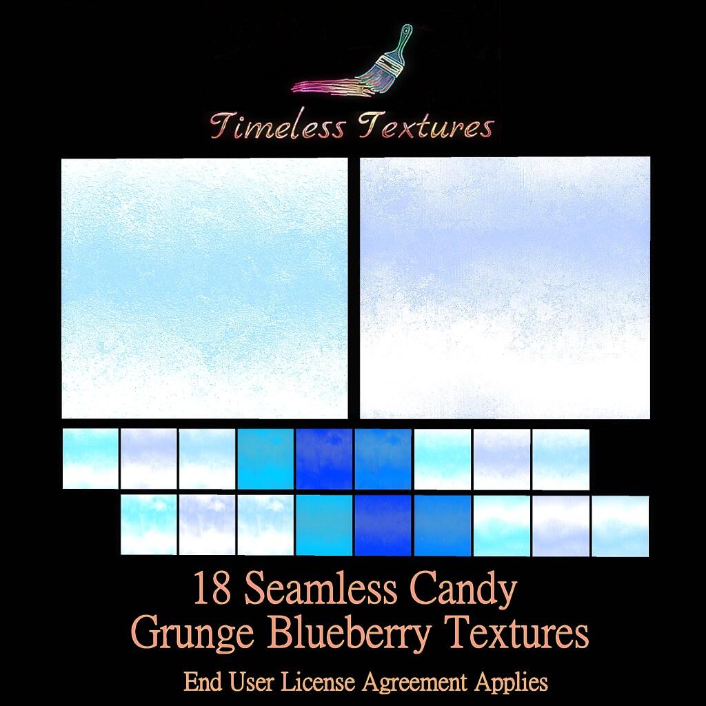 TT 18 Seamless Candy Grunge Blueberry Timeless Textures