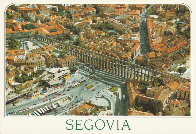Spain - Castile and León - Segovia (Roman aqueduct)