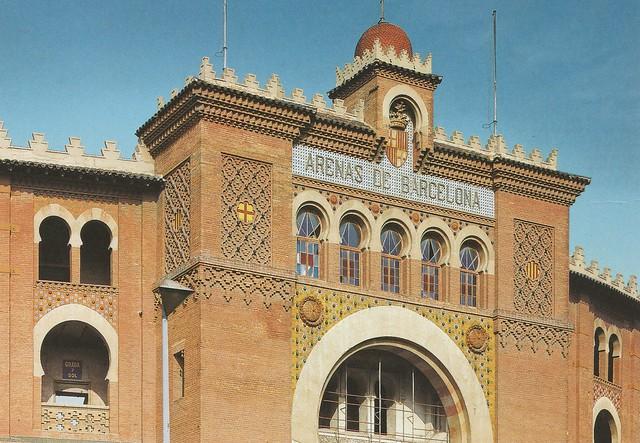 Spain - Barcelona - Las Arenas de Barcelona (Commercial shopping complex located in Plaça España).