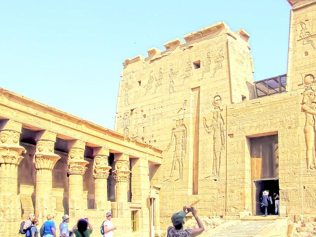 Philae Pylon and Temple Entrance