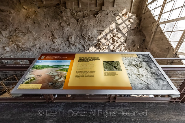 Quarry Exhibit Hall in Dinosaur National Monument