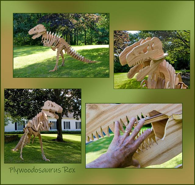 Plywoodosaurus Rex