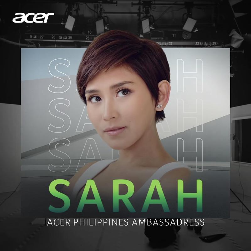 Sarah Geronimo is the newest Acer celebrity ambassador (1)