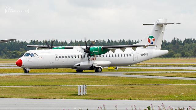 OY-RUV DANISH AIR TRANSPORT (DAT) ATR 72 CN 1527