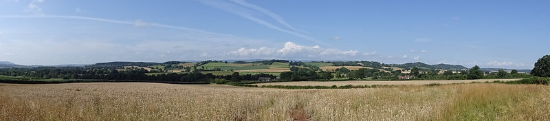 Panorama from the Duffryn road