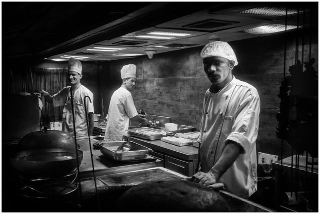 Tandoori Chefs at Work, India