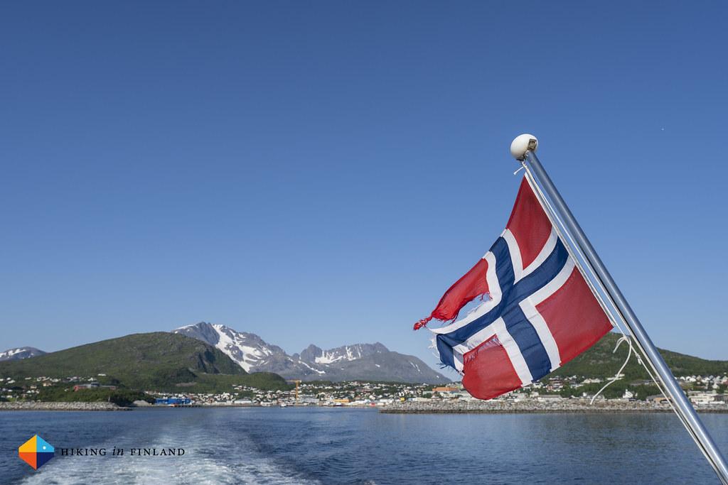 Leaving Skjervøy