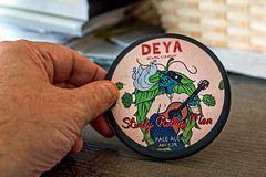 DEYA Beer Pump Label (The Broken Seal -  Stevenage) Panasonic LX100M2