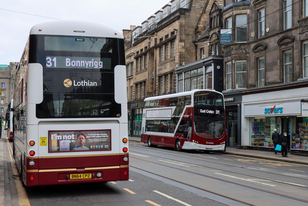 Lothian Bus Volvo B5TL's