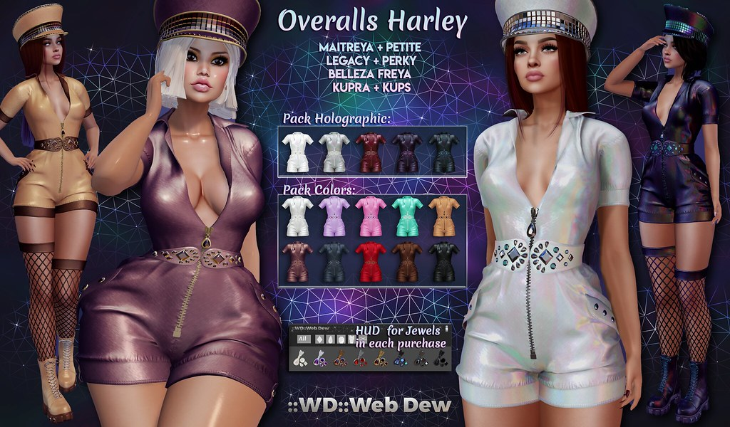 Overalls Harley @ Orsy Event