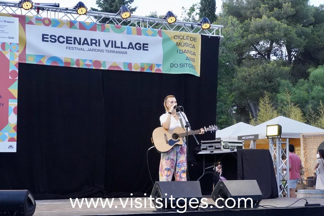 Sílvia Pérez Cruz en el Festival Jardins de Terramar 2021