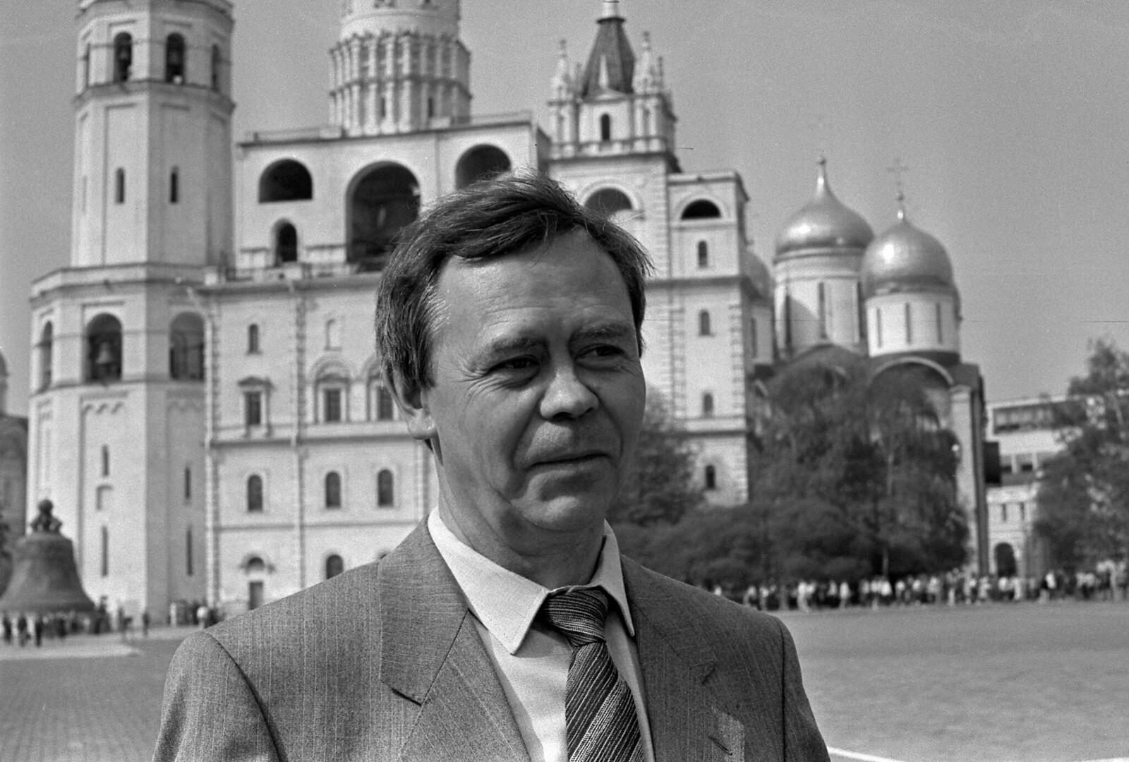 1987.Валентин Распутин в Кремле