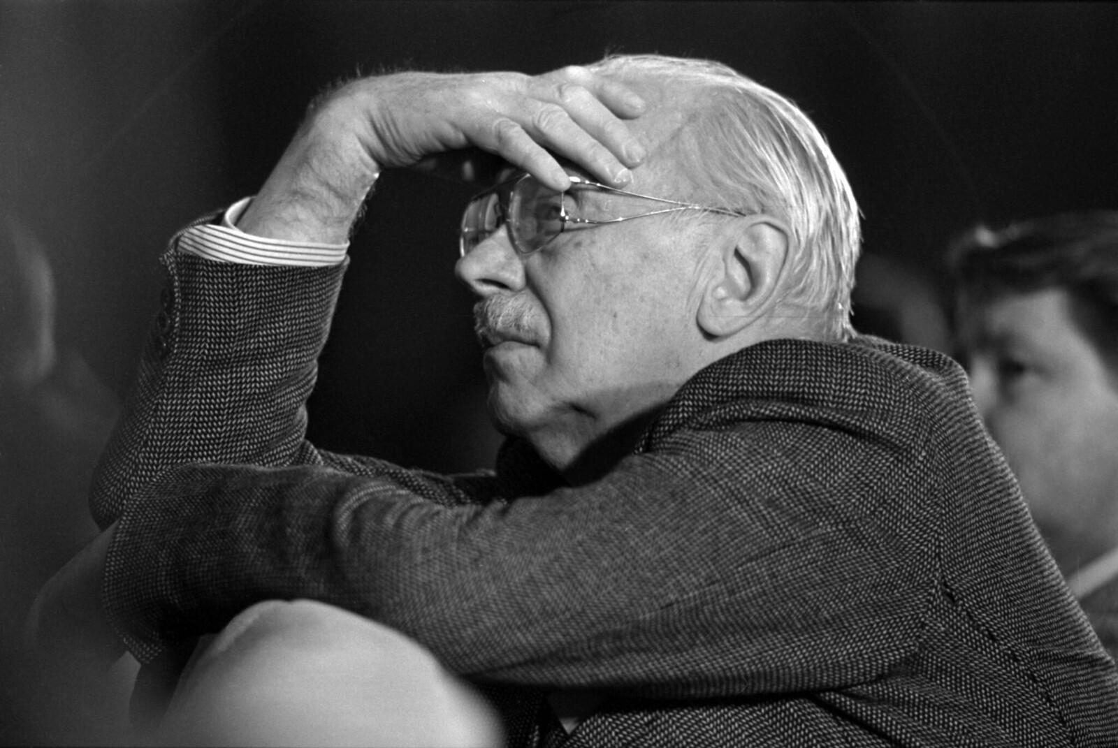 1987. Сергей Михалков на литературной конференции в Перми (2)