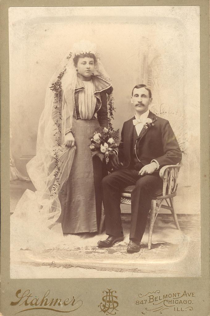 Mueller-Nahrstaedt wedding, 1897