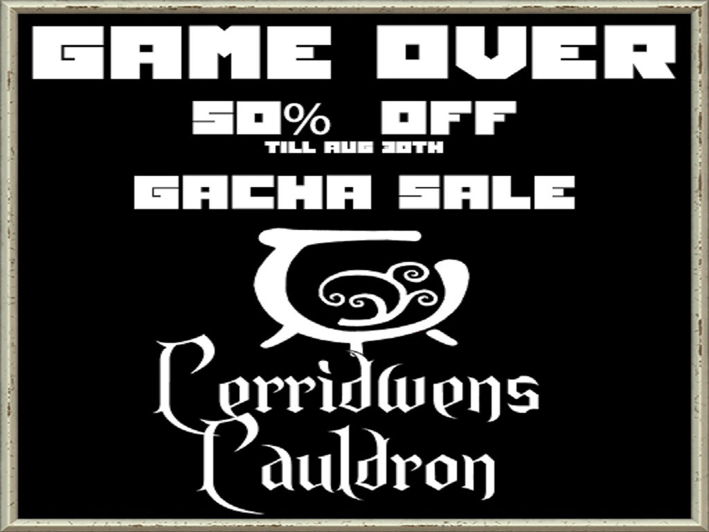 GAME OVER GACHA BLOW OUT!