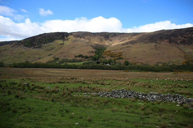 The river Broom valley