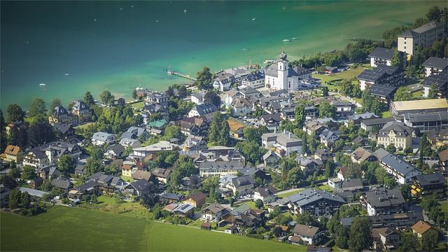 _DSC3970 Strobl Village at the Wolfgangsee Lake - Salzburg / Austria