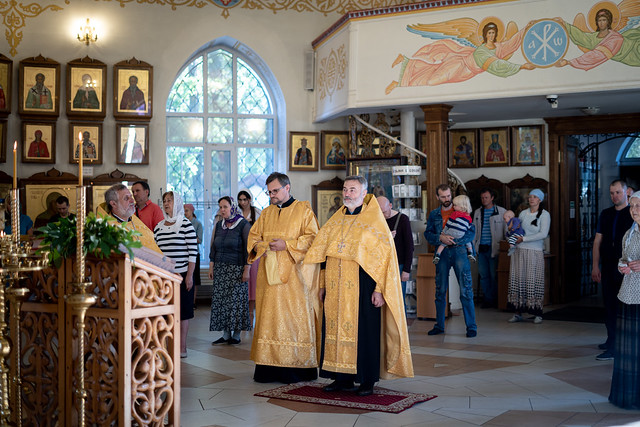 31 июля 2021 г. Неделя 6-я по Пятидесятнице. День памяти преподобного Серафима Саровского.