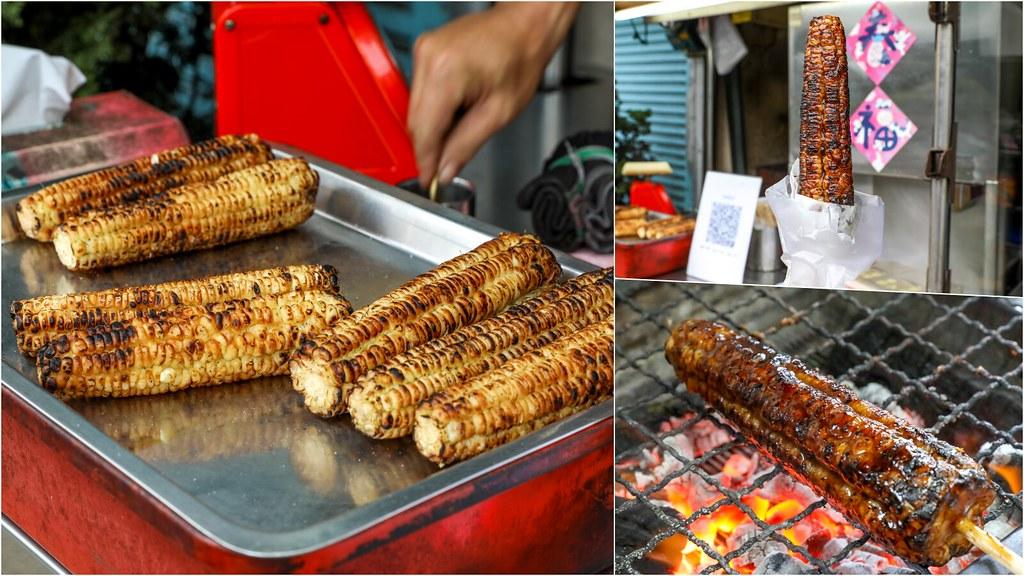 炭烤就是香,在地飄香20年老店!巷弄好吃便宜美琪烤玉米