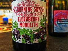 Close Up - Burning Sky's Elderberry Beer (The Broken Seal -  Stevenage) Panasonic LX100M2
