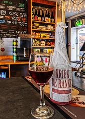 Belgium Fruit Beer - De Ranke's Kriek (Cherry Beer) (7%)  (The Broken Seal -  Stevenage) Panasonic LX100M2