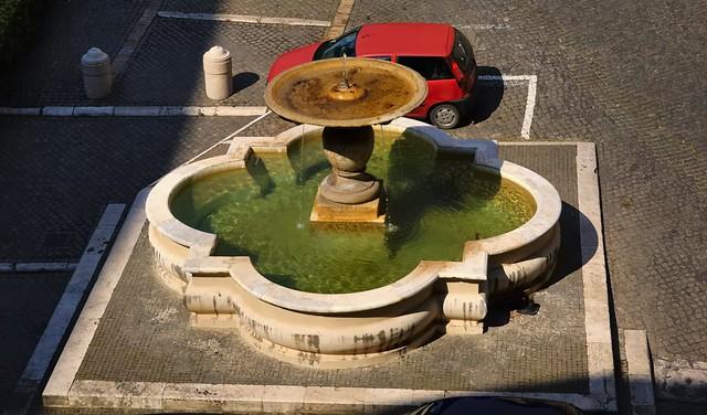 Fountain & Fiat, Vatican City, Rome