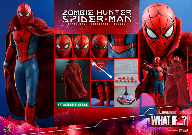 Zombie Hunter Spiderman Hot Toys Press Photo 04