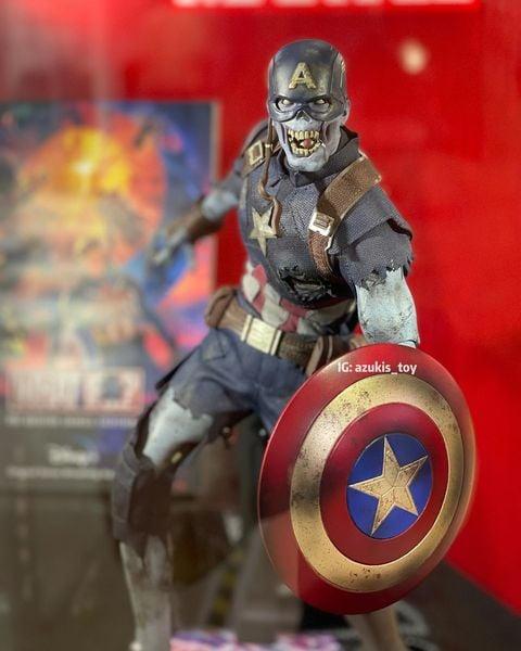 Captain America Zombie