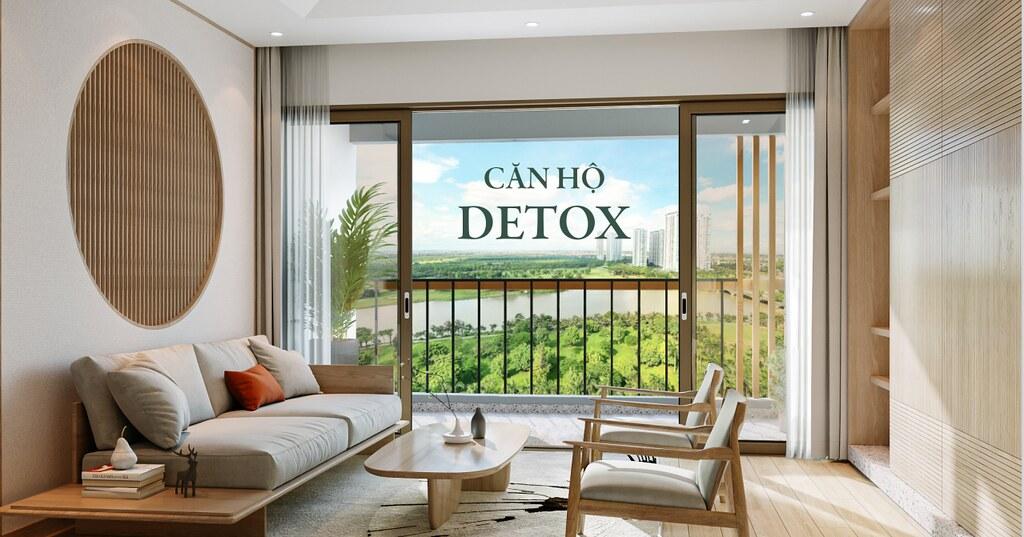 Căn hộ Detox Ecopark Landmark - Nơi nhà là trung tâm nghỉ dưỡng