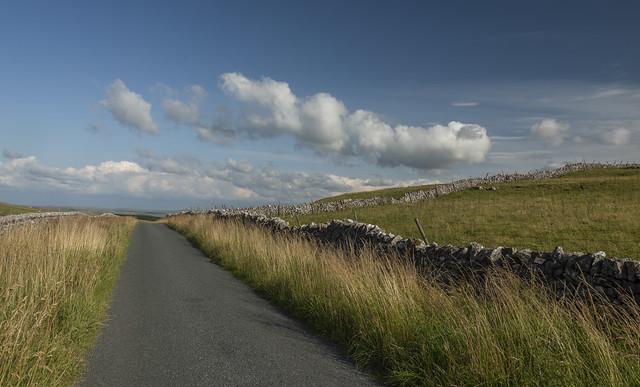 Malham Moor road