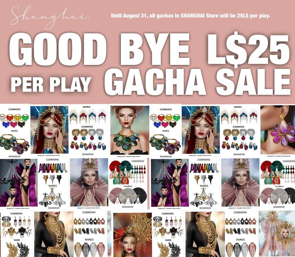 GOOD BYE GACHA SALA <3