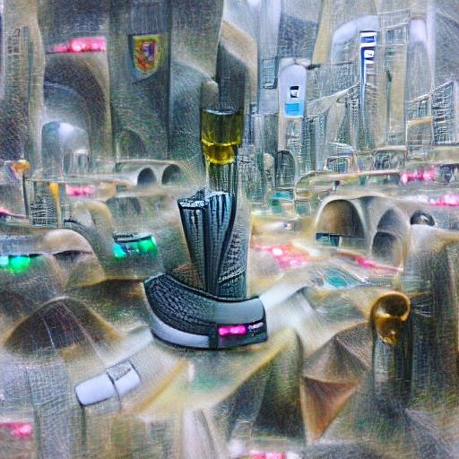 'a futuristic city' Zoetrope 5 Text-to-Image