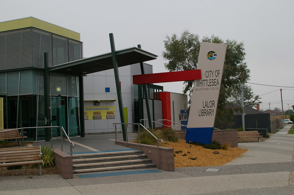 Lalor Library full shot 2007