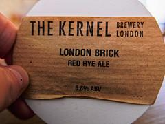 Close Up (Kernel Beer Pump Label)  (The Broken Seal -  Stevenage) Panasonic LX100M2