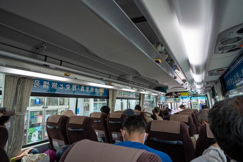 酸ヶ湯温泉行きのバス