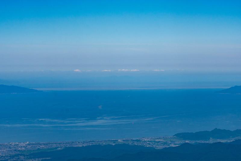八甲田から北海道は見えるか