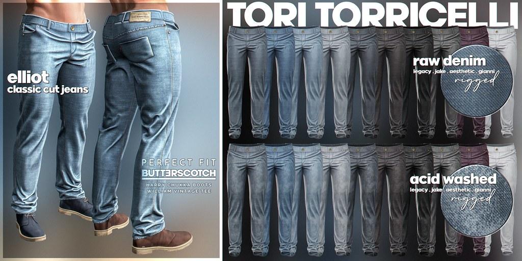 Elliot Jeans // TMD