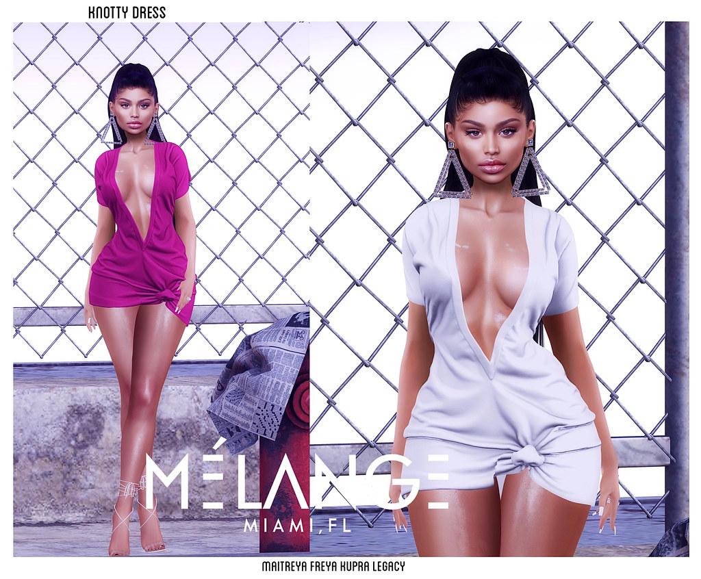 Knotty Dress now @ mèlange mainstore