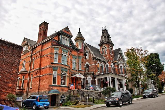 Brockville Ontario - Canada - Watkins F. Nisbet House, 1878  - Victorian Architecture