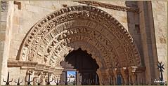 Portada de la Iglesia de Santa María Magdalena (Zamora, Castilla y León, España, 26-7-2021)