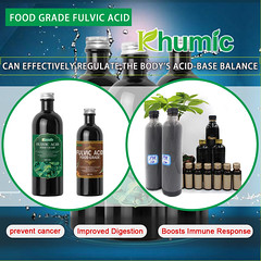 Food-grade fulvic acid can greatly improve the human body.