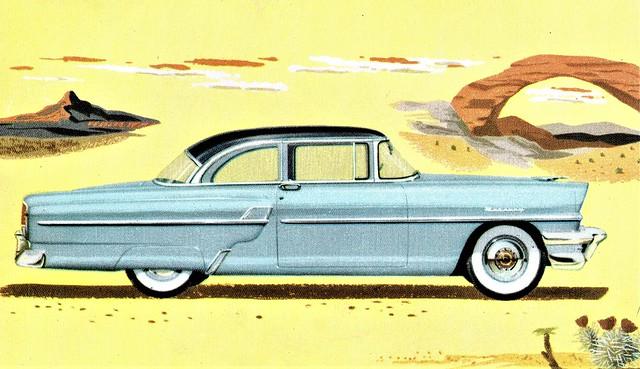 1955 Mercury Custom 2-Door Sedan